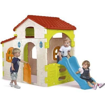Maison pour enfant Beauty House avec tobogan FEBER - Plastique anti-UV