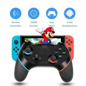 Manette de jeu sans-fil pour Nintendo Switch Turbo-6 - Bluetooth (vendeur tiers)