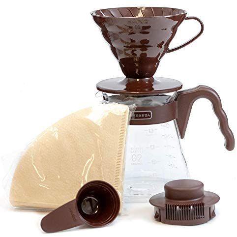Kit cafetière à filtre Hario V60 VCSD-02CBR