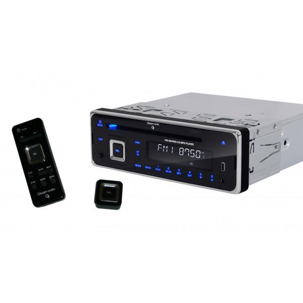 Autoradio CD/USB/SD/Bluetooth (la totale !)  Oxygen MP305BT / Paiement via Buyster