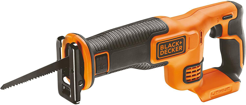 Scie sabre sans fil Black & Decker BDCR18N-XJ 18V sans batterie