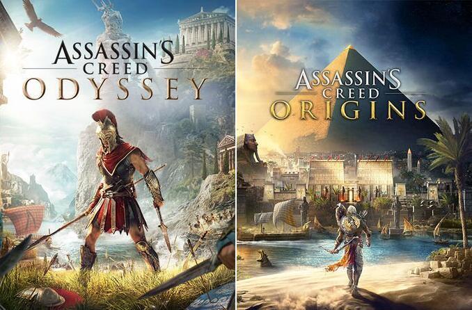 Assassin's Creed Origins à 9.62€ & AC Odyssey à 12.24€ sur PC (Dématérialisés, Ubi Connect)