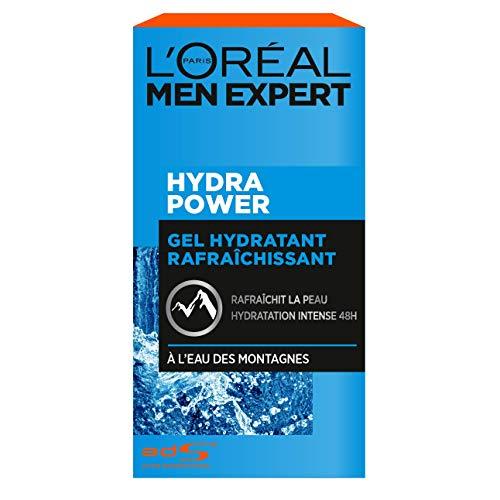 Gel hydratant rafraîchissant L'Oréal Men Expert Hydra Power - 50 ml