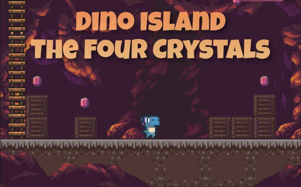 Dino Island - The Four Crystals gratuit sur PC & Linux (dématérialisé, DRM-Free)