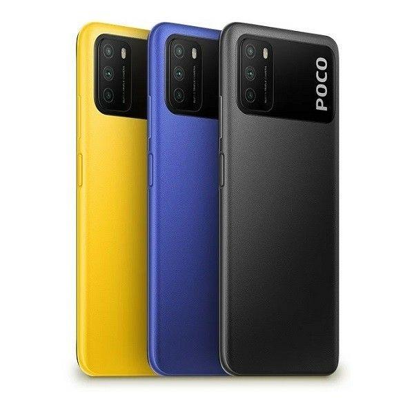"""Smartphone 6.53"""" Xiaomi Poco M3 - 64Go, 4Go de Ram"""