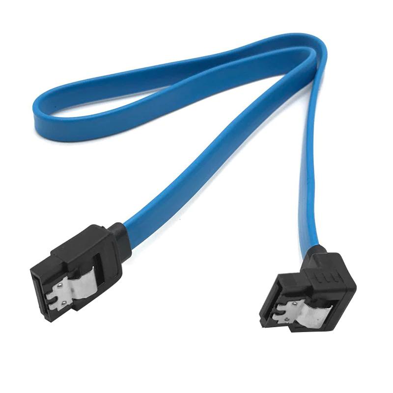 Câble SATA 3.0 III (40cm, droit ou coudé)