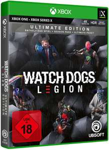 Watch Dogs Legion Ultimate Edition sur Xbox Série X