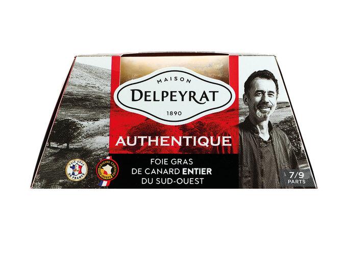 Foie gras de canard entier du Sud-Ouest Delpeyrat Authentique