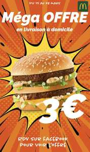 Burger Big Mac 3€ - Saint-Germain-en-Laye (78)
