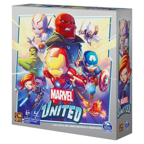 Jeux de société Cmon - Marvel United (cavernedugobelin.com)