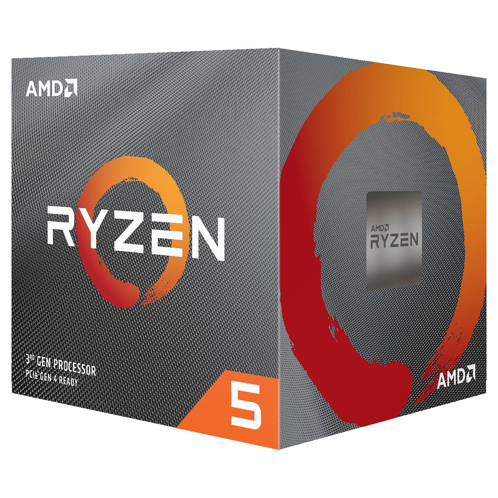 Processeur AMD Ryzen 5 3600 - 3.6 GHz, Mode Turbo à 4.2 GHz (Vendeur tiers)