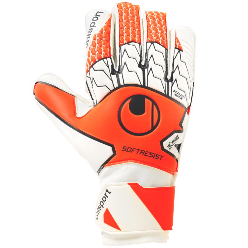 Gants de gardien de football Uhlsport Soft Resist pour Homme - Plusieurs tailles & coloris