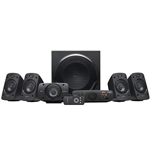 Système audio 5.1 Logitech Z906 Surround Sound Speaker System, THX, Dolby & DTS Certified, 1000 Watts