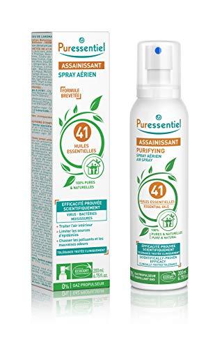 Spray Aérien Assainissant Puressentiel aux 41 Huiles Essentielles - 200ml