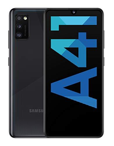 "Smartphone 6.1"" Samsung Galaxy A41 - full HD+ Super AMOLED, Helio P65, 4 Go de RAM, 64 Go, noir"