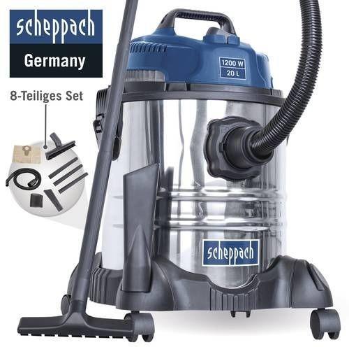 Aspirateur eau & poussière Scheppach ASP20-ES - 20 L, 1200 W