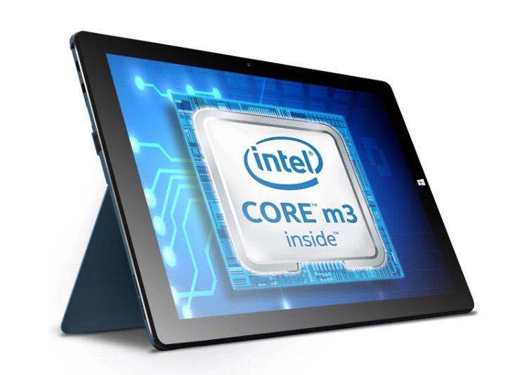 "Tablette 12.2"" Full HD hybride Cube i9 (Skylake Core M3-6Y30, 4 Go Ram, 128 Go Rom, USB Type C) via l'application mobile"