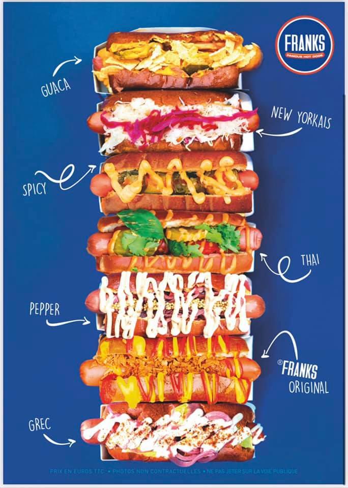 [Étudiants - de 13h30 à 15h] Hot Dog gratuit - Franks Famous Hot Dogs Neuilly-sur-Seine (92)