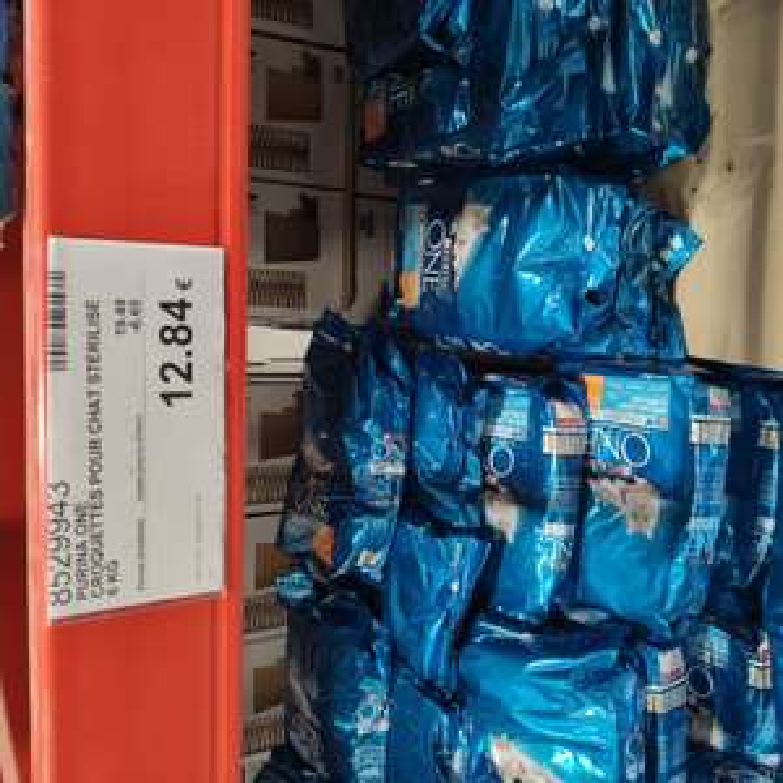 [Carte Costco] Sac de croquettes pour chats stérilisés Purina One, 6kg - Villebon sur Yvette (91)