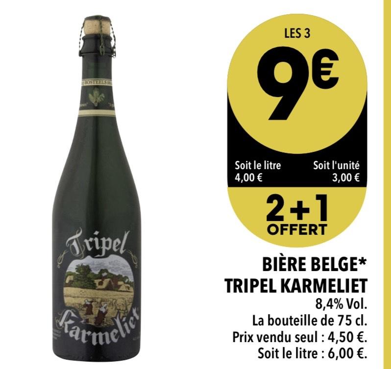 3 Bières Tripel Karmeliet - Supeco