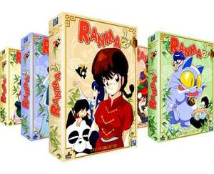 5 Coffrets DVD l'Intégrale de Ranma 1/2 (VOSTF + VF non censurées)