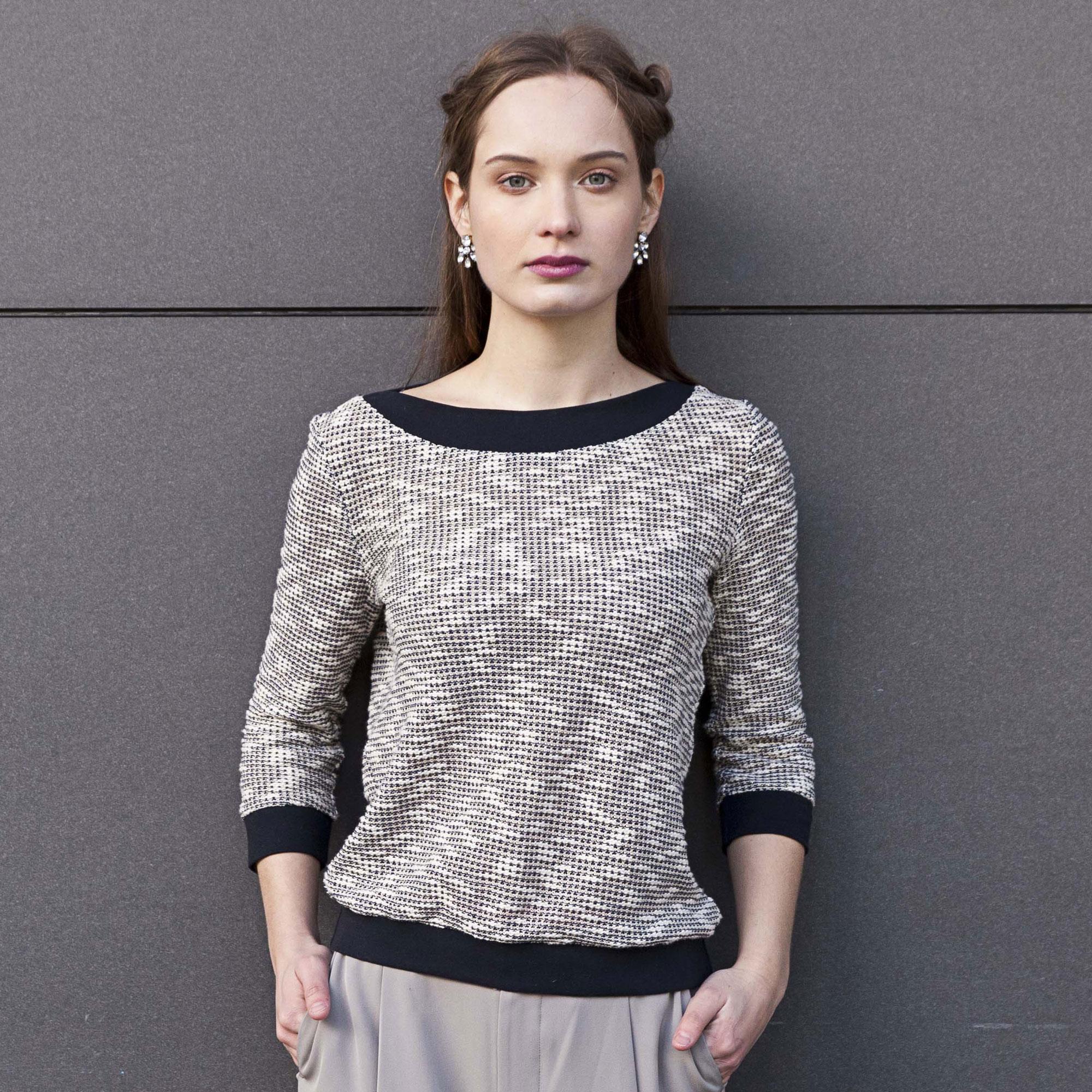 Patron de couture Pull Aster offert (lamaisonvictor.com)