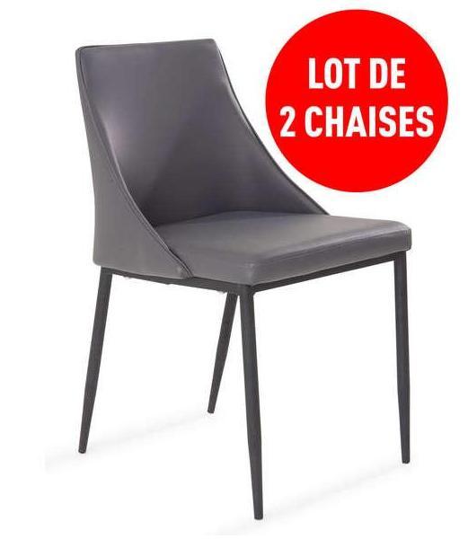 Jusqu'à 40% de réduction sur une sélection de produits - Ex : Lot de 2 chaises design moderne