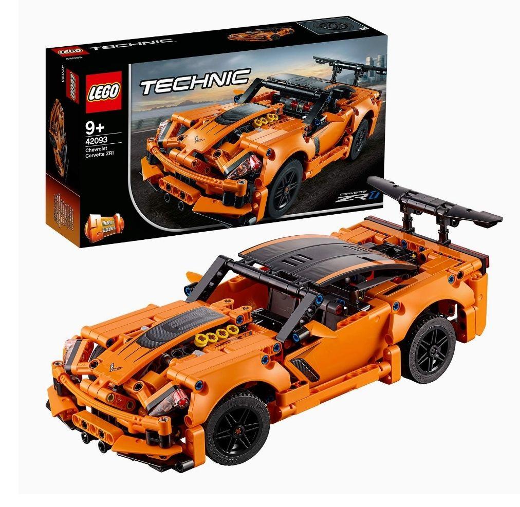 Jeu de construction Lego Technic (42093) - Chevrolet Corvette ZR1