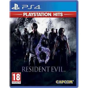 Resident Evil 6 : Playstation Hits sur PS4