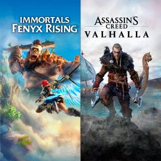 Sélection de jeux Ps4/Ps5 (Dématérialisé - Store Brésil) - Ex: Pack Assassin's Creed Valhalla + Immortals Fenyx Rising 41,10 euros
