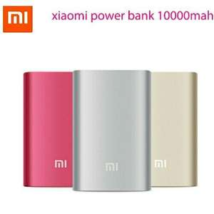 Batterie externe Xiaomi Powerbank 10000 mAh (via l'application)