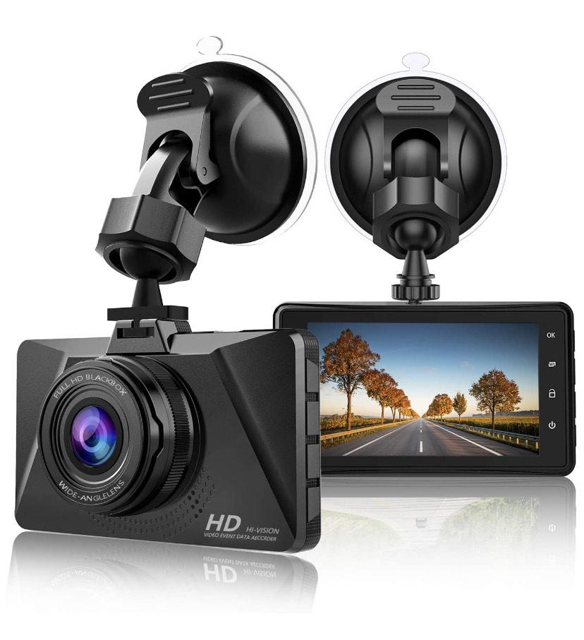 Camera embarquée voiture Dashcam Chortau - 1080P, 170° (Vendeur Tiers)