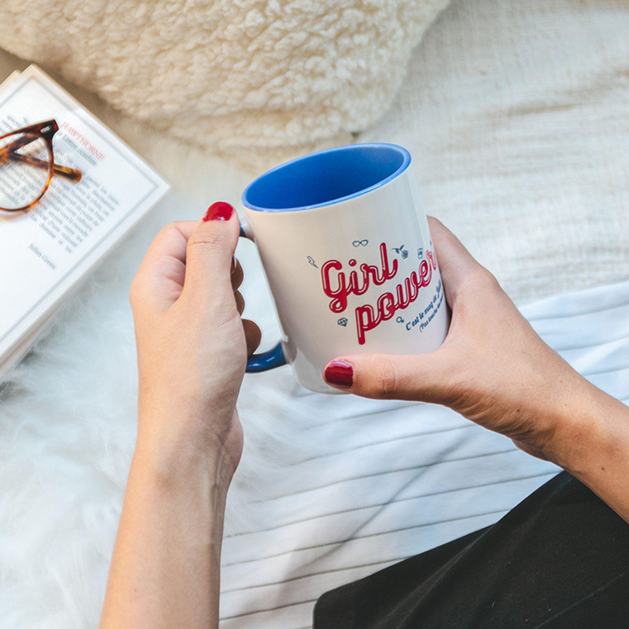 Lot de 2 mugs couleur personnalisés Photoweb