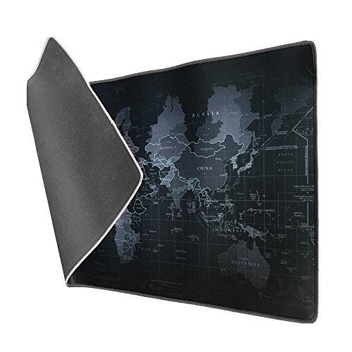 Tapis de Souris XL Vicloon Carte du monde - 900 x 400 x 3 mm (Vendeur tiers)