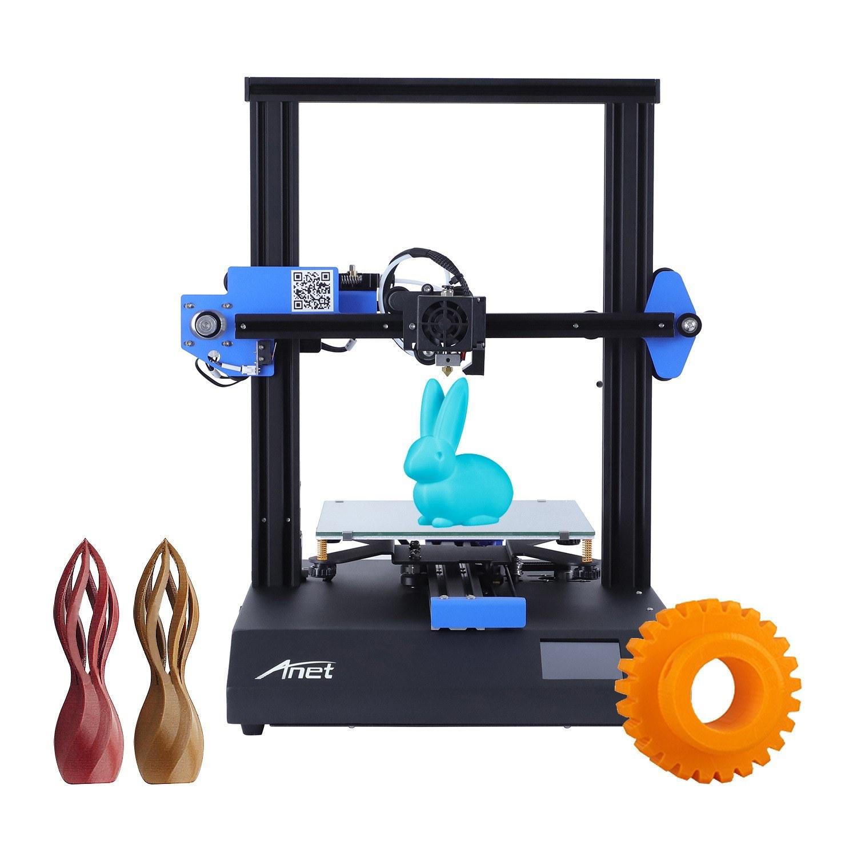 Imprimante 3D Anet ET4X FDM - 220 x 220 x 250 mm + Filament PLA 10m & Carte SD 8Go (Entrepôt Allemagne)