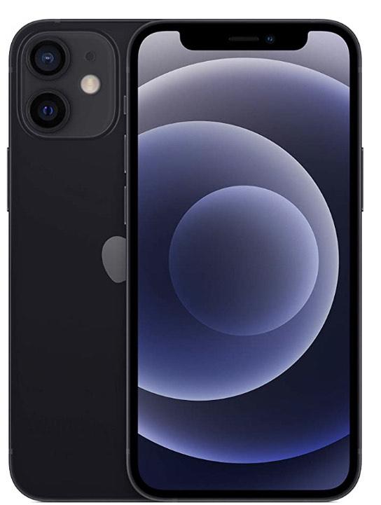"Smartphone 5.4"" Apple iPhone 12 mini - full HD+ Retina, A14, 4 Go de RAM, 64 Go - Noir"