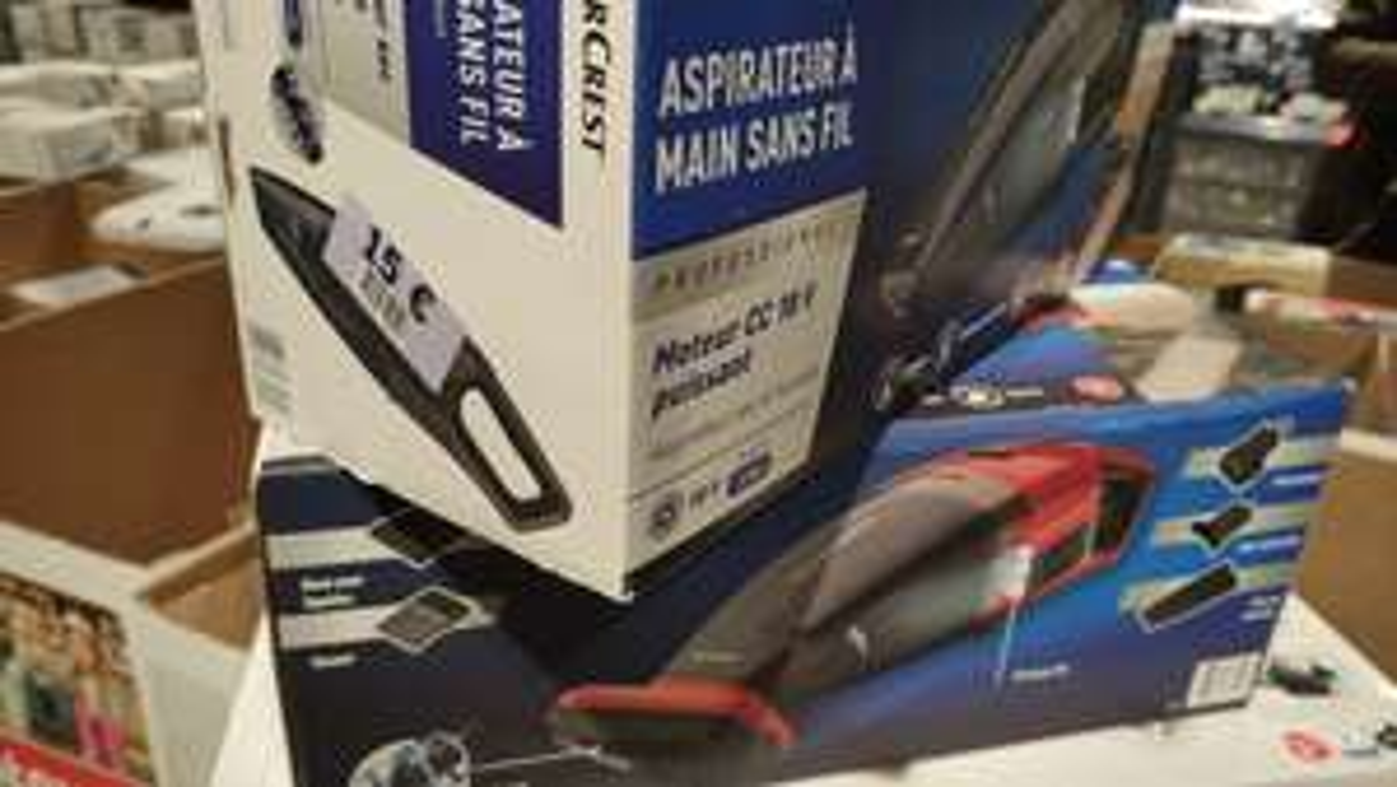 Aspirateur à main Silvercrest (18V) - Forbach (57)
