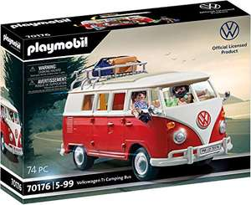 Jouet Playmobil - Volkswagen T1 Combi 70176