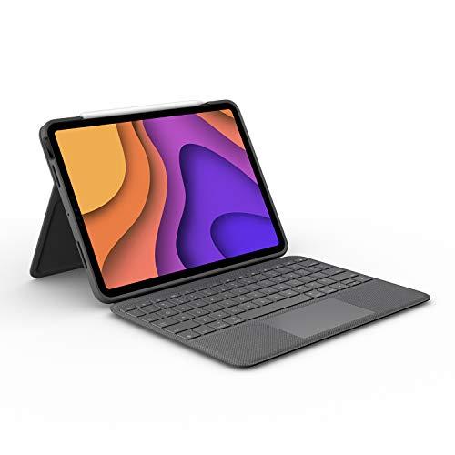 """Clavier sans fil Logitech Folio Touch pour iPad Air 10.9"""" - Noir"""