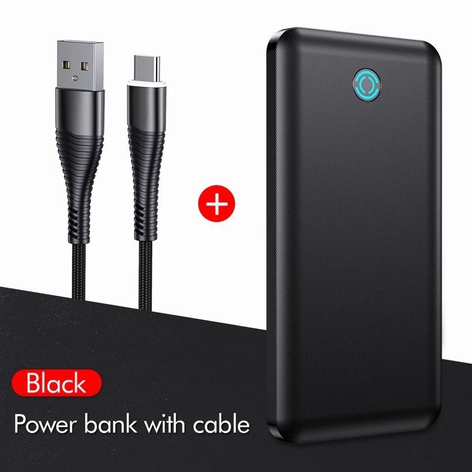 Lot de 2 batteries externes YKZ PowerCore 10000mAh USB-C (Entrepôt France)
