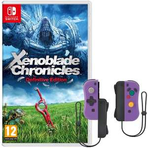 Jeu Xenoblade chronicles definitive edition sur Nintendo switch + Manettes iicon format gamecube compatible Nintendo Switch