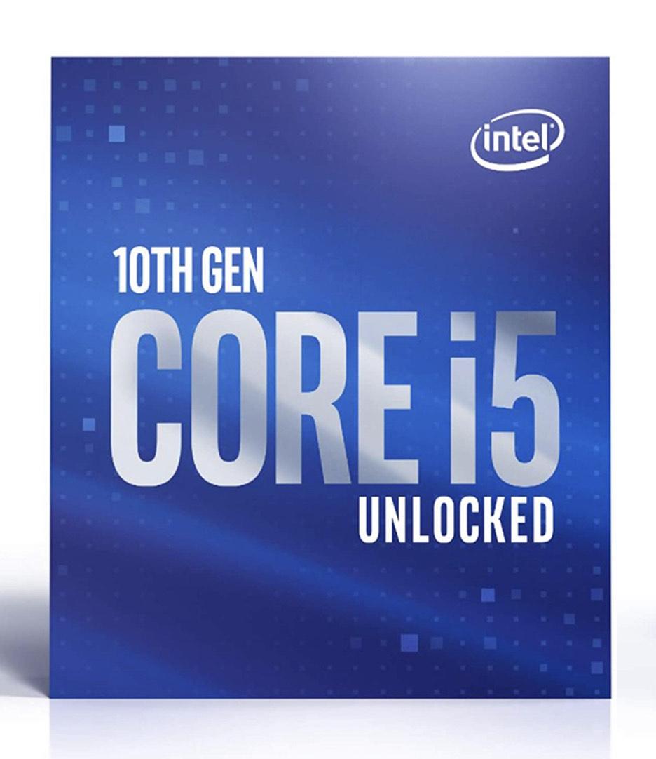 Processeur Intel i5-10600K Comet Lake-S LGA1200 (vendeur tiers)