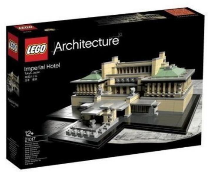 Jeu de construction Lego Architecture Impérial Hôtel n°21017
