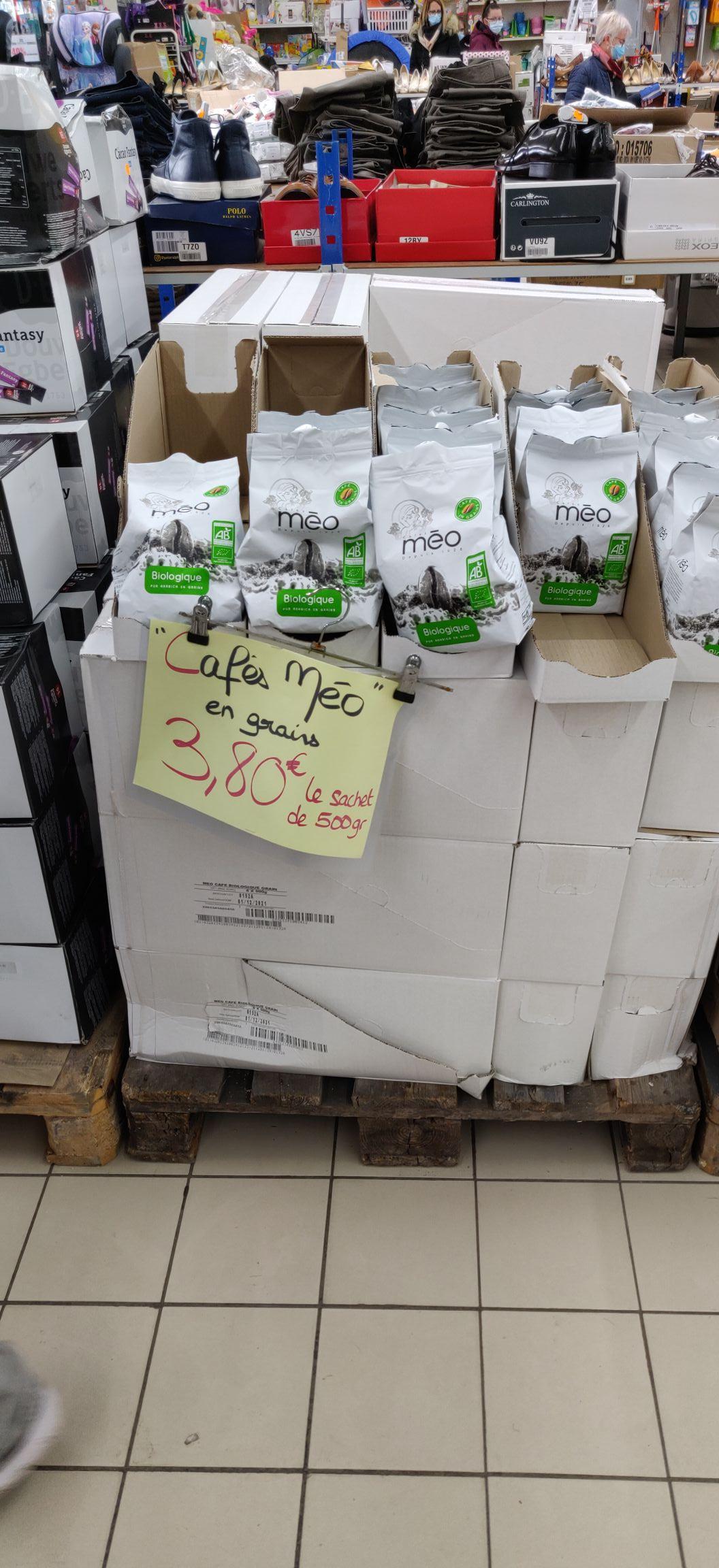 Sachet de Café en grains Méo Biologique (500g) - Nivolas-Vermelle (38)
