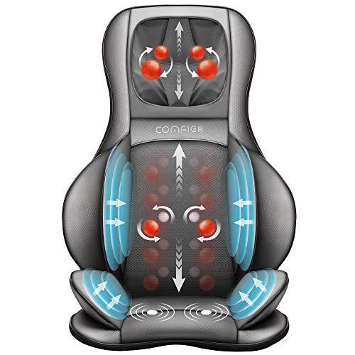 Siège masseur Comfier Shiatsu avec Compression d'Air et Roulement (vendeur tiers)
