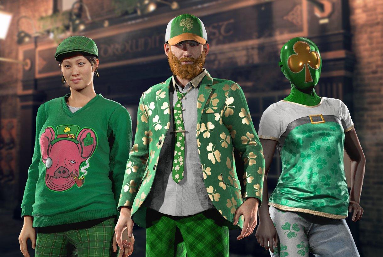 Contenu numérique gratuit pour Watch Dogs: Legion - Saint Patrick Outfit (Dématérialisé - toutes plateformes)