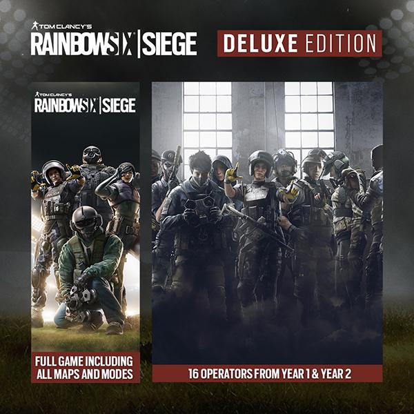 Jeu Tom Clancy's Rainbow Six Siege sur PC (Dématérialisé, Steam)