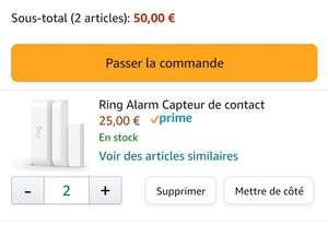 Capteur de contact Ring Alarm