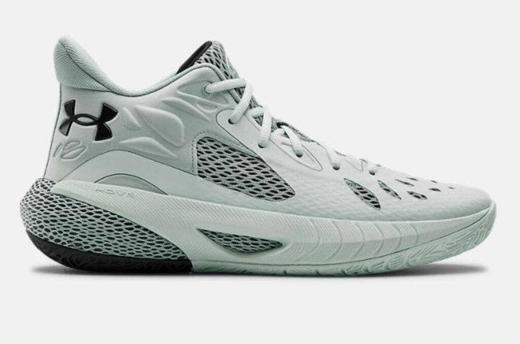 Chaussures de basket Under Armor UA HOVR Havoc 3 - Blanc/gris