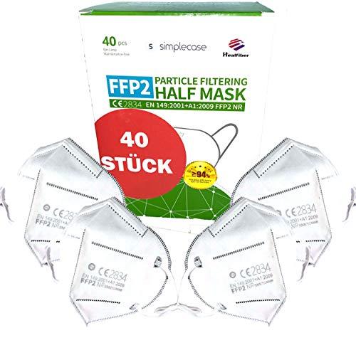 40 Masques de protection Shengquan - FFP2, CE2834
